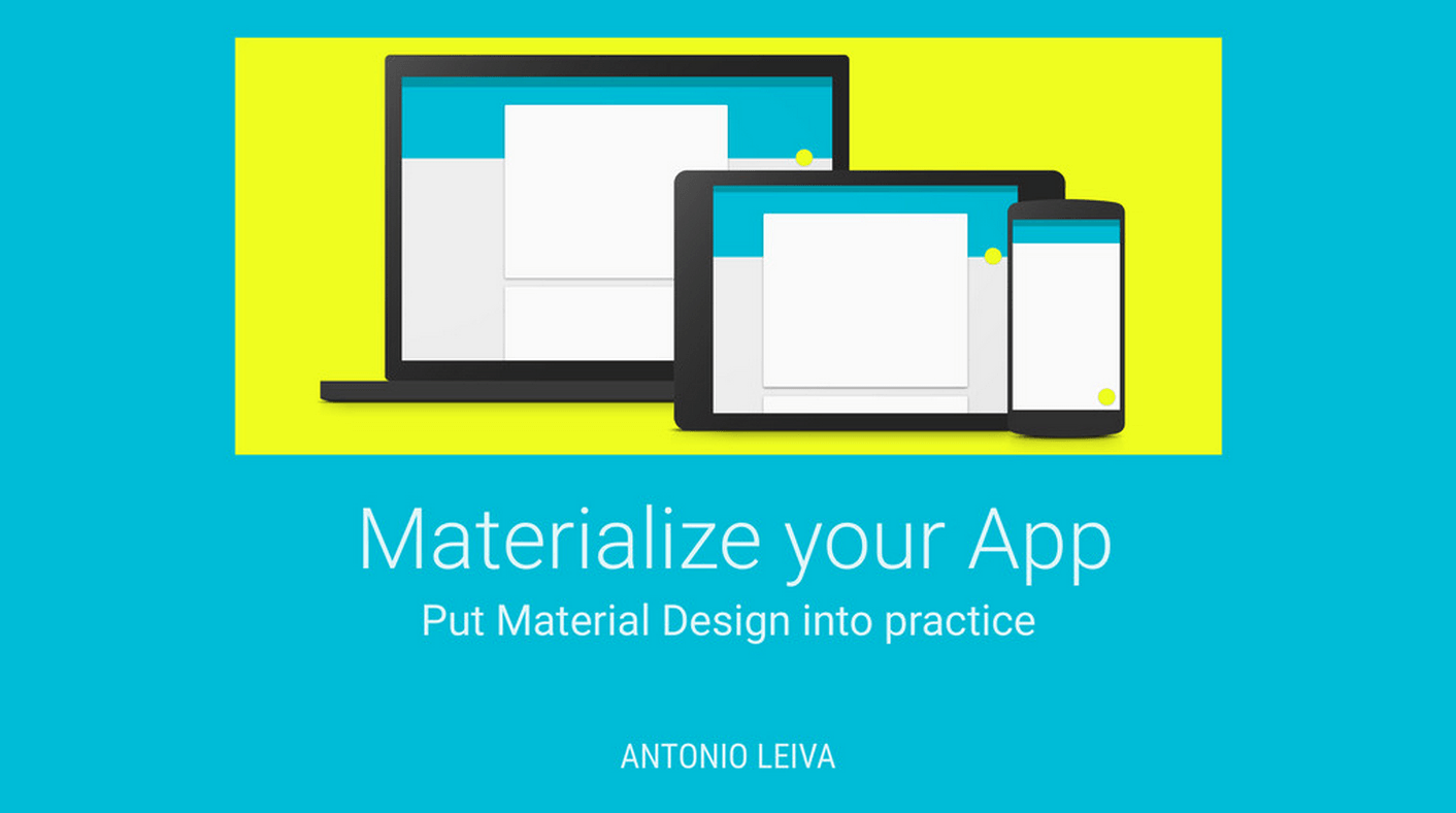 Materialize your App